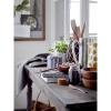 Afbeelding van Camellia Melkkan & Sugar Bowl Blue Porselin