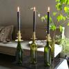 Bild von Weinflasche Kerzenständer 3-Lagensilber