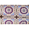 Afbeelding van Lounge Matras Marokko Paars,Bruin 120x30x15