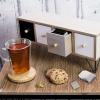 Afbeelding van Thee cabinet 8 vaks 345x125x14cm