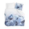 Afbeelding van Dekbedovertrek Sweet Mundane Wit / Blauw - 200x220 cm