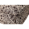 Afbeelding van Lounge Matras Marokko Zwart,Wit 120x80x15