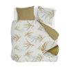 Bild von Dekbedovertrek Remade Bamboo Grasses Honing Mosterd - 240x220 cm