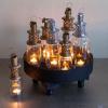 Afbeelding van Jampot Lantaarn Waxinelichthouder Zilver M