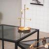 Bild von Schmuckhalter Gold 13x13x25cm