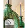 Bild von Kerzenständer Elefant Basis grün s