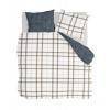 Bild von Bettbezug gemütlicher Carre White - 140x220 cm