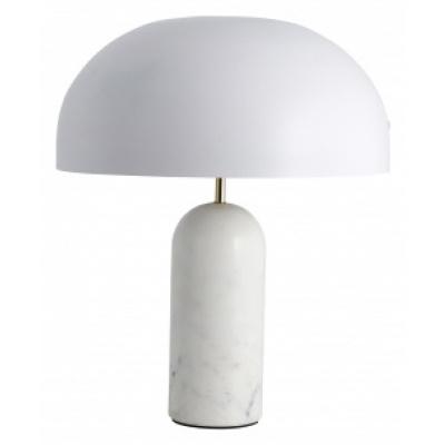 ATLAS tafellamp met Wit marmer