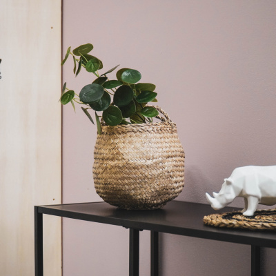 Kunstplant Lange Bos - Eucalyptus - 10x16x65cm