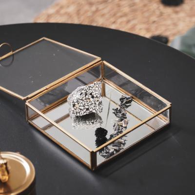 Glazenbox Gold - 15.5x15.5x4.5cm