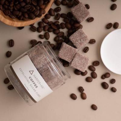 Koffie Sugar Cubes Scrub