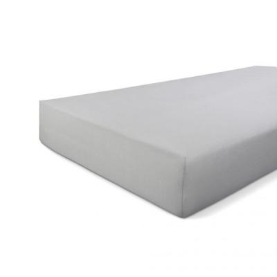 Hoeslaken Jersey Stretch Grijs - 160x220 cm