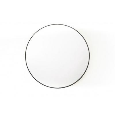 Ronde Spiegel -Zwart- Ø50cm
