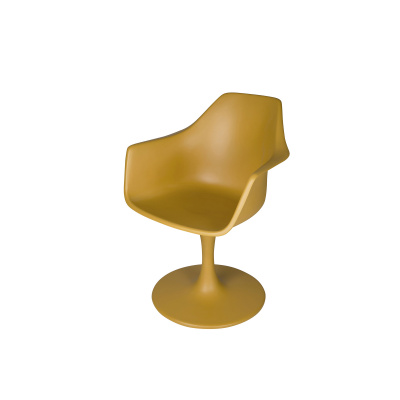 Sessel Polyester Gold Perle Gold