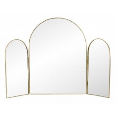 RUKIA tafel spiegel 3 delen golden