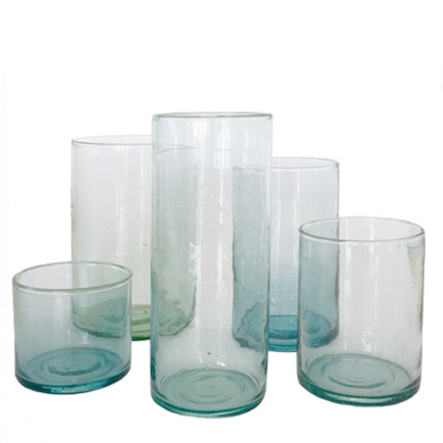 Vaas Cylinder Glas Transparant M