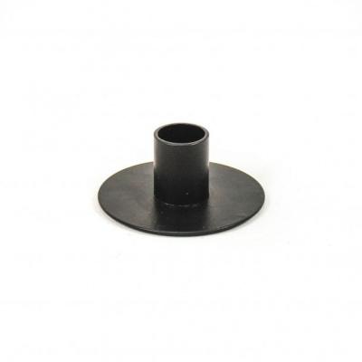 Kandelaar Zwart - 7,5x3cm