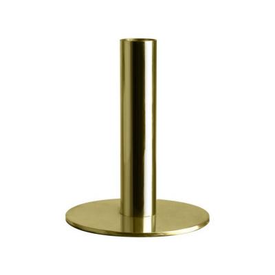 Kaarshouder Metaal ø10x12.6cm Goud
