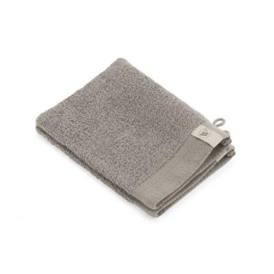 Washand Soft Cotton Taupe (set 2 stuks) - 16x21 cm