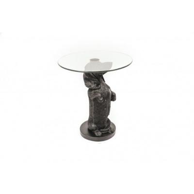 Teckel tafel Zwart