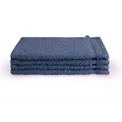Waschlappenbad-Grundlagen blau (4 Stück) - 16x21 cm