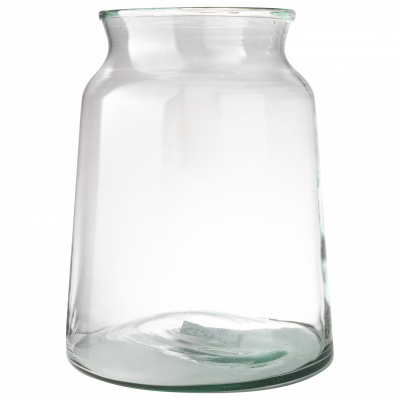 Vase Recyclingglas Ø23x30cm