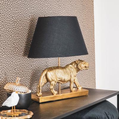 Tischlampe Lion-32x48x17 cm Gold