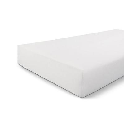 Hoeslaken Jersey Stretch Wit - 90x200/210 cm