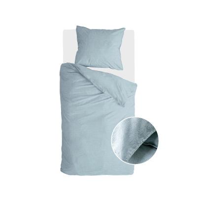 Bettbezug Vintage Baumwolljeans blau - 155x220 cm