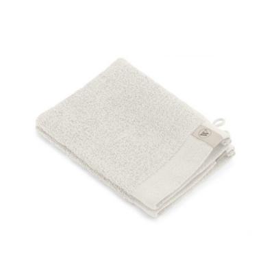 Washand Soft Cotton Kiezel Grijs (set 2 stuks) - 16x21 cm