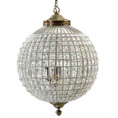 Kristallen Lamp, Glazen Kralen, Groot