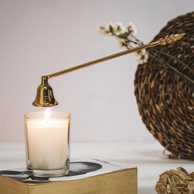 Kerze über Gold - 26x4x5cm