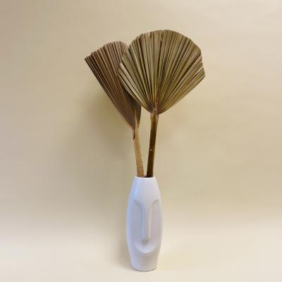 Palmblatt Naturel - 2 Stück