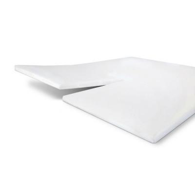 Hoeslaken Jersey Stretch Split-topper Wit - 160x220 cm