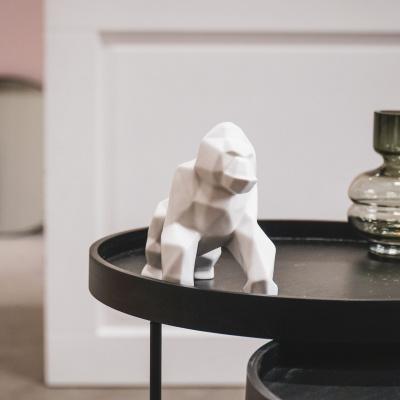 Gorilla Beeld - Wit
