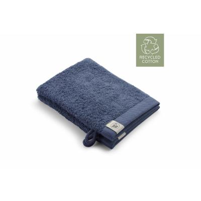 Washand Remade Cotton Blauw (set 2 stuks) - 16x21 cm