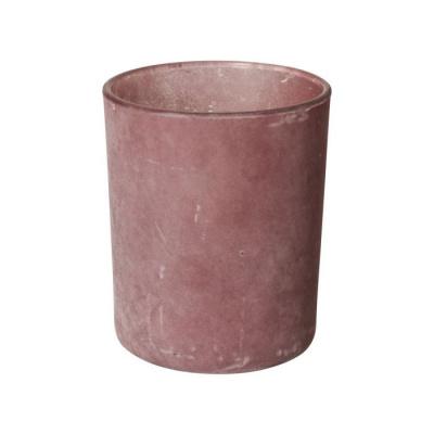 Theelichthouder ø7x8.4cm roze
