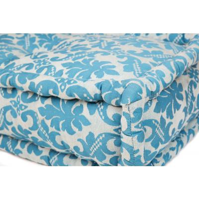 Lounge Matras Marokko Wit,Blauw 120x30x15