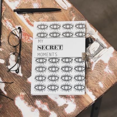 Dagboekje met slot - Secret Moments - A5