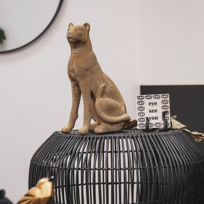 Panther-Bild - Gold