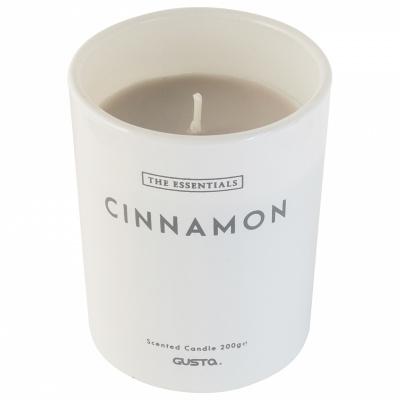 Duftende Kerze Ø8x10cm Zimt