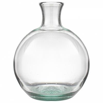 Vaas bol gerecycled glas ø18x24cm