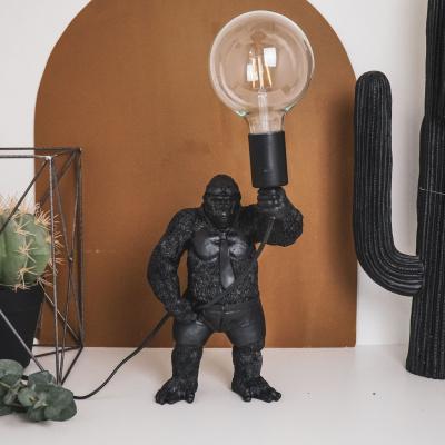 Staande Gorilla Lamp-20x35x18 cm-Goud-Housevitamin