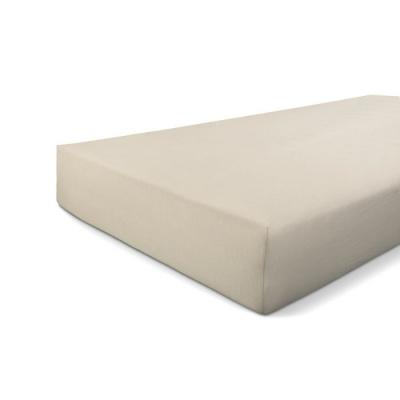Hoeslaken Jersey Stretch Zand - 160x220 cm