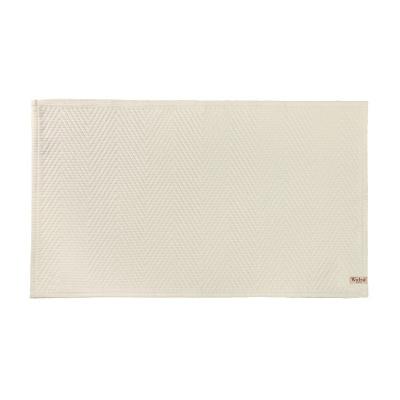 Badmat Weiche Baumwolle Kieselgrau - 60x100 cm