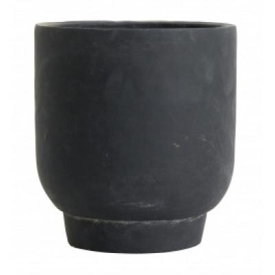 Ivon Bloempot Groot - Zwart