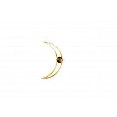Maan Kandelaar - Goud- 14x3x7cm