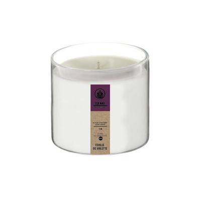 Geurkaars violet ø8x7.5cm eco wax