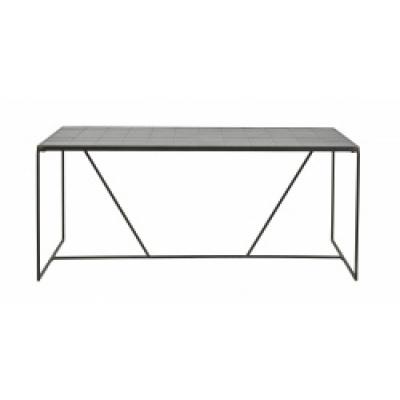 Tajo-Tisch, schwarze Fliesen