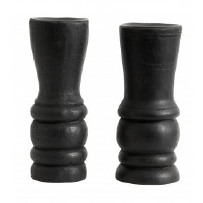 Houten Kandelaar - Zwart